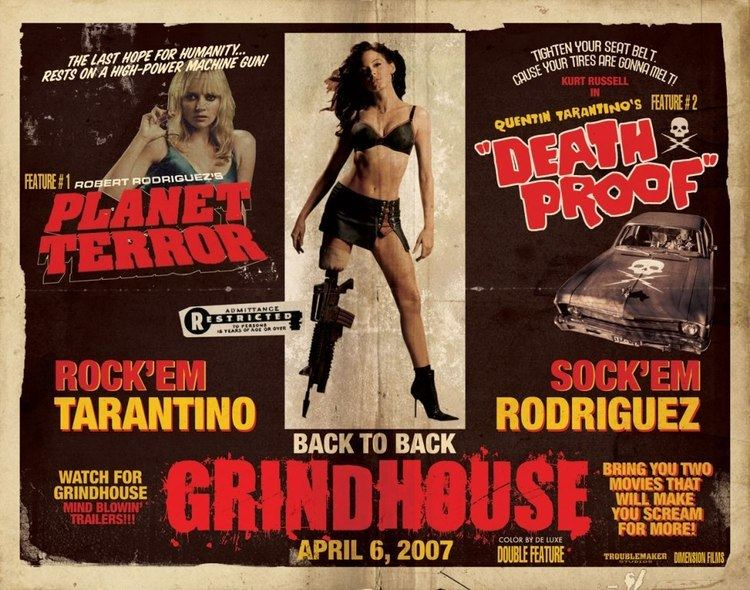 The Minx movie scenes Grindhouse Planet Terror and Death Proof 2007