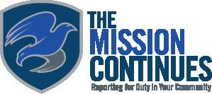 The Mission Continues httpsuploadwikimediaorgwikipediaen55bLog