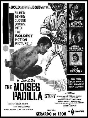The Moises Padilla Story spindle LEOPOLDO SALCEDO IN THE MOISES PADILLA STORY 1961 A