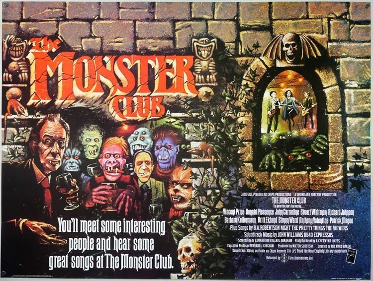 The Monster Club movie scenes For sixteen weeks Jose Cruz of The Grim Reader and I will be delving into the complete horror filmography of Amicus Productions and regaling you with our