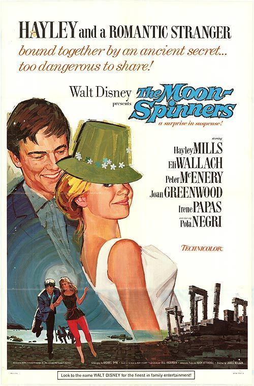 The Moon-Spinners The MoonSpinners 1964 Disney Movie Poster Disney Movie