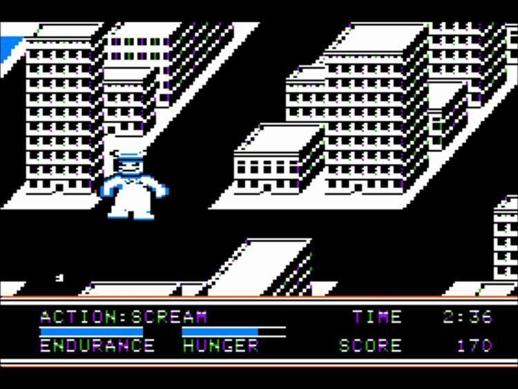 The Movie Monster Game The Movie Monster Game for the Apple II YouTube