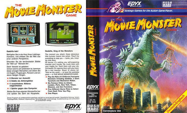 The Movie Monster Game The Movie Monster Game C64Wiki