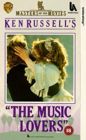 The Music Lovers The Music Lovers 1970 VHS Richard Chamberlain Glenda Jackson