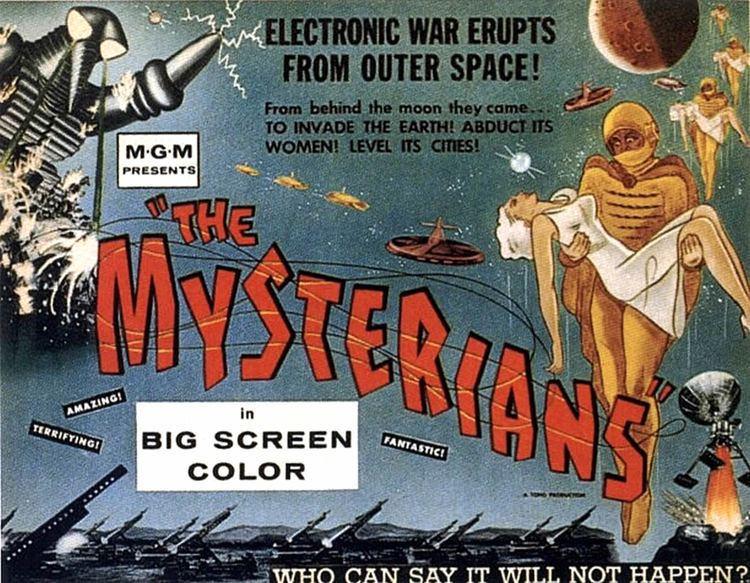 The Mysterians The Mysterians 1957 VCinema