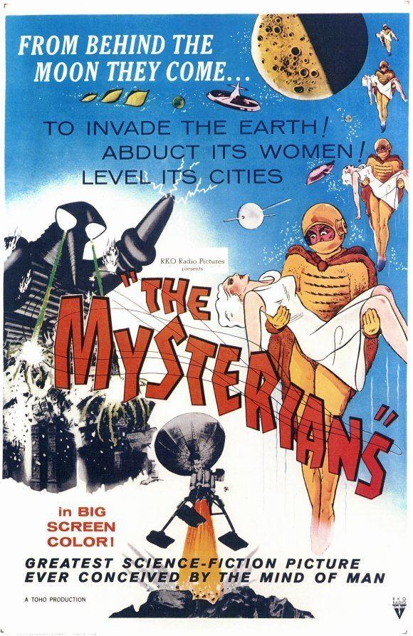 The Mysterians Ishiro Hondas The Mysterians Cinema Temple