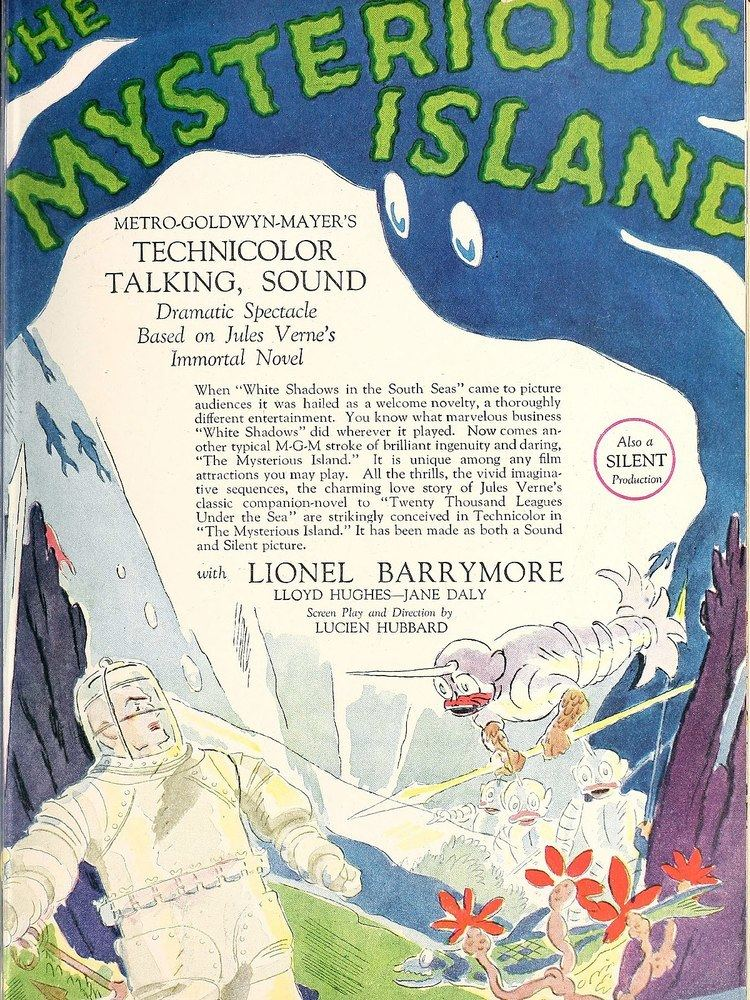 The Mysterious Island (1929 film) The Mysterious Island 1929 film Wikipedia