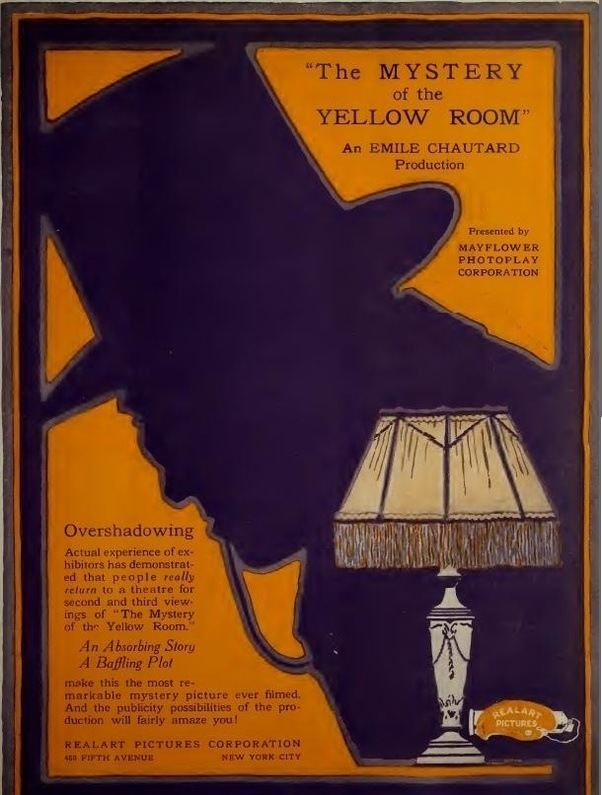 The Mystery Of Yellow Room 1919 Film