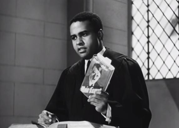 The Negro Soldier movie scenes Negro soldier preacher It is interesting to see this movie still of a minister the screenwriter Moss preaching by using quotes from Mein Kampf