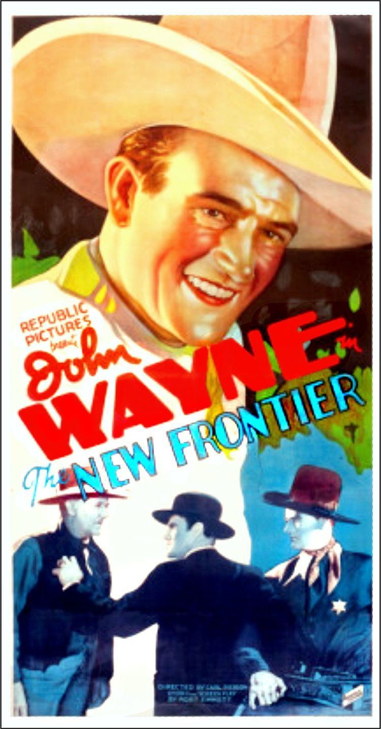 The New Frontier (film) John Wayne Iconic Images The New Frontier My Favorite Westerns