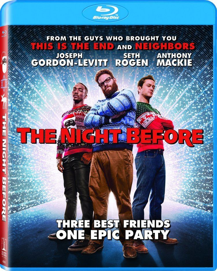 The Night Before DVD Release Date March 1 2016