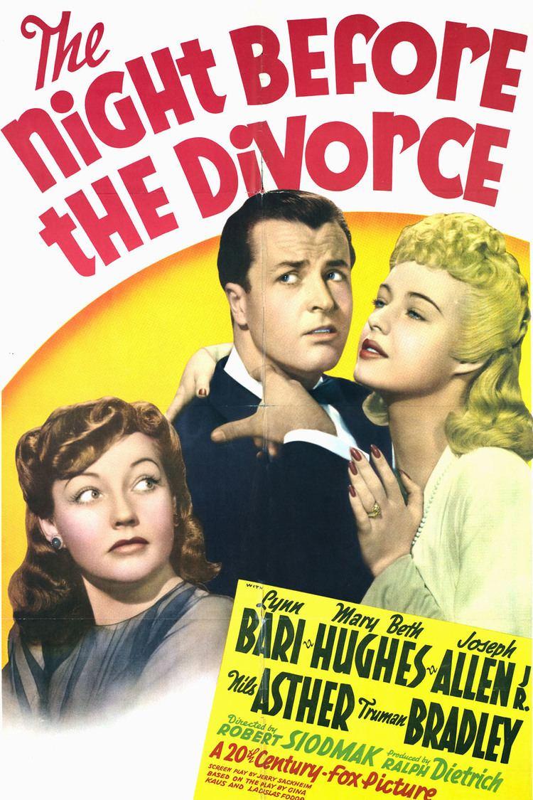 The Night Before the Divorce wwwgstaticcomtvthumbmovieposters92636p92636
