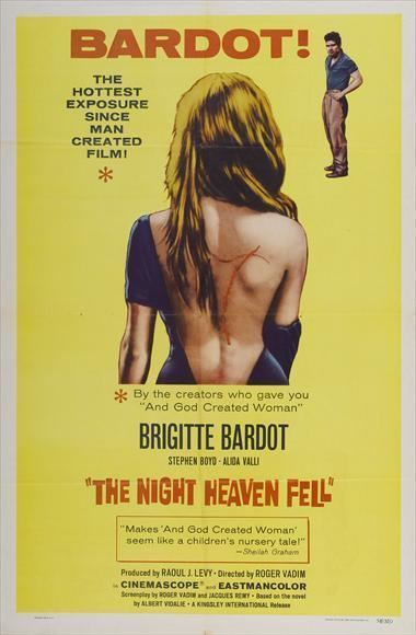 The Night Heaven Fell The Night Heaven Fell Movie Posters From Movie Poster Shop