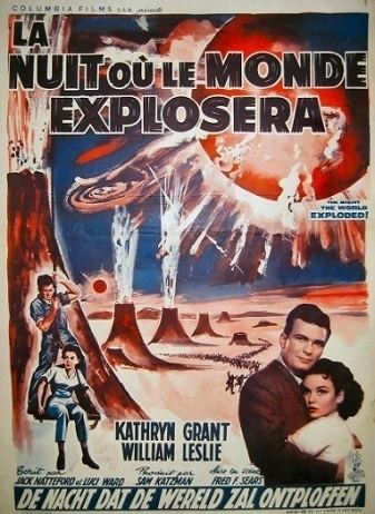 The Night the World Exploded The Night the World Exploded 1957 Full Movie Review