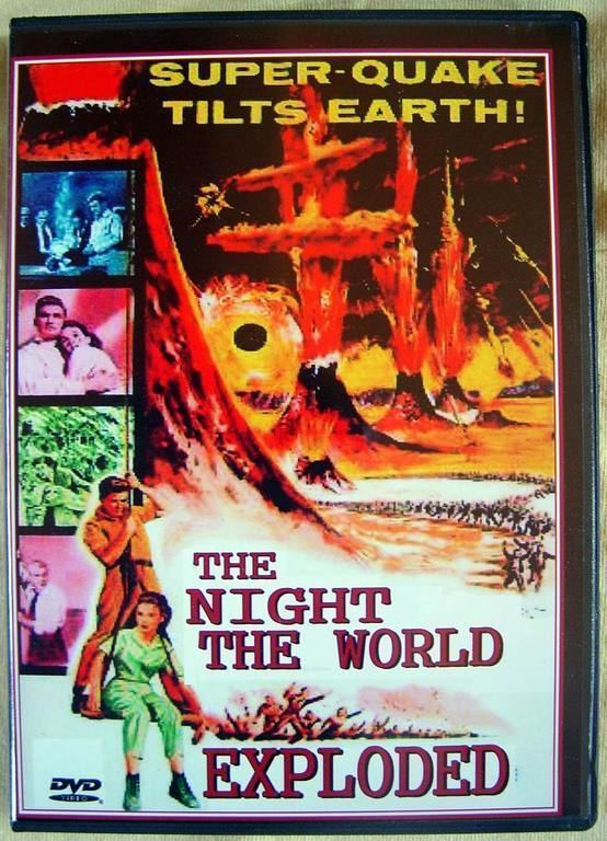 The Night the World Exploded THE NIGHT THE WORLD EXPLODED 1957 HORROR SCIFI GEM for sale
