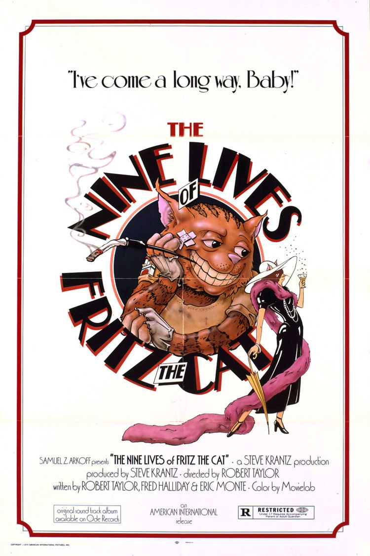 The Nine Lives of Fritz the Cat wwwgstaticcomtvthumbmovieposters6088p6088p