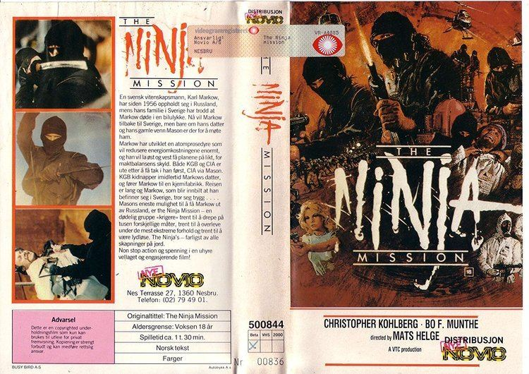 The Ninja Mission The Ninja Mission 1984