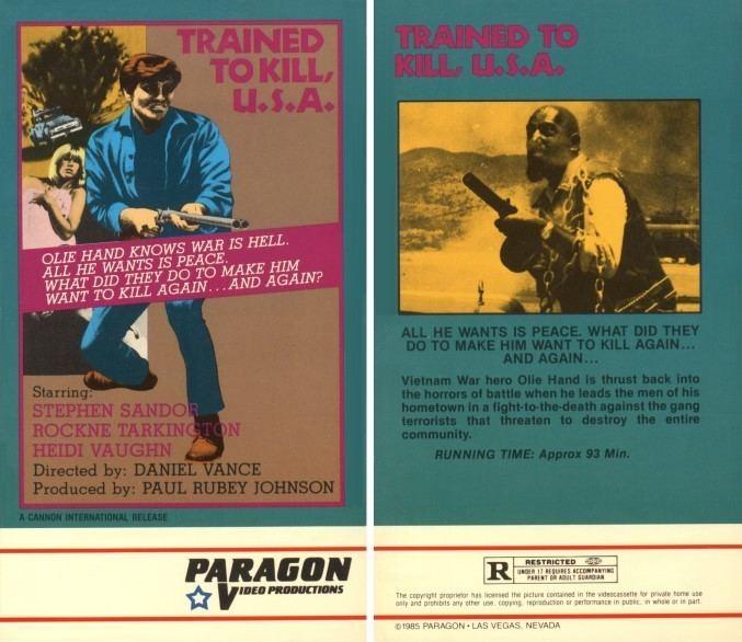 The No Mercy Man Trained To Kill USA 1973 aka The No Mercy Man