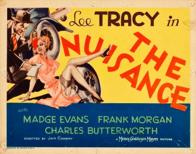 The Nuisance (1933 film) The Nuisance 1933 Review with Lee Tracy and Madge Evans Pre