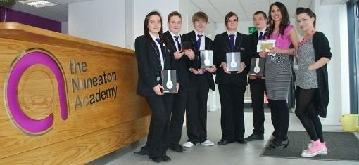 The Nuneaton Academy Nuneaton school Mental health competition Time To Change