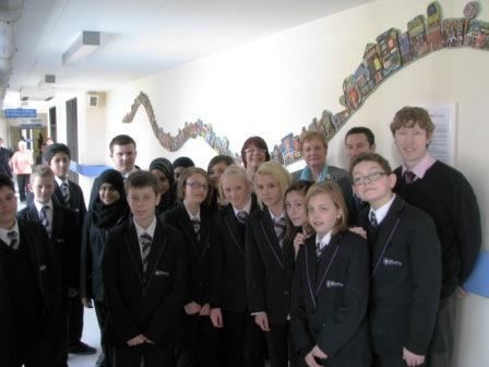 The Nuneaton Academy GEORGE Eliot Hospital donated art from students at The Nuneaton Academy