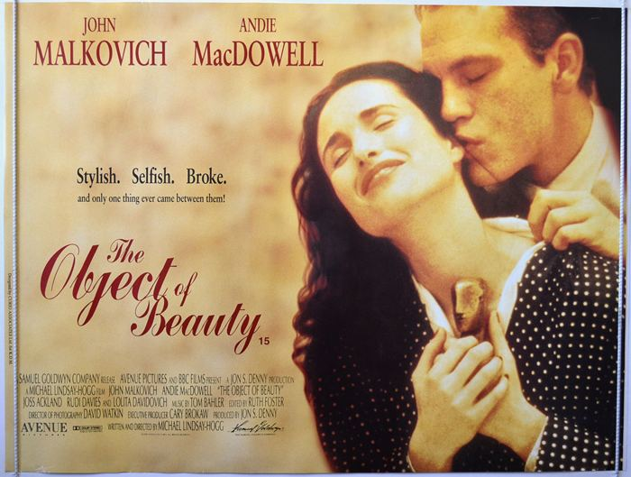 The Object of Beauty Object Of Beauty The Original Cinema Movie Poster From