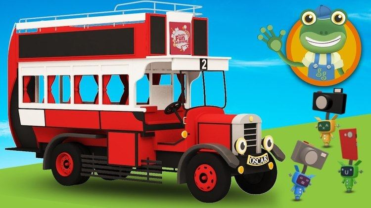 The Old Bus Oscar The Old Bus Visits Geckos Garage Bus Video For Children