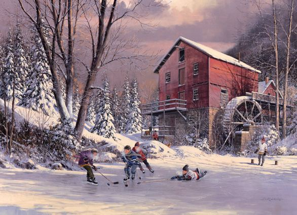 The Old Mill Pond The Old Mill Pond Item No 51700 Cobble Hill Puzzle Company