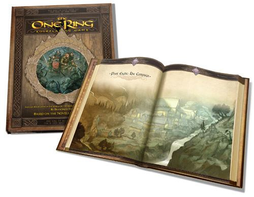 The One Ring Roleplaying Game The One Ring Preview Cubicle 7