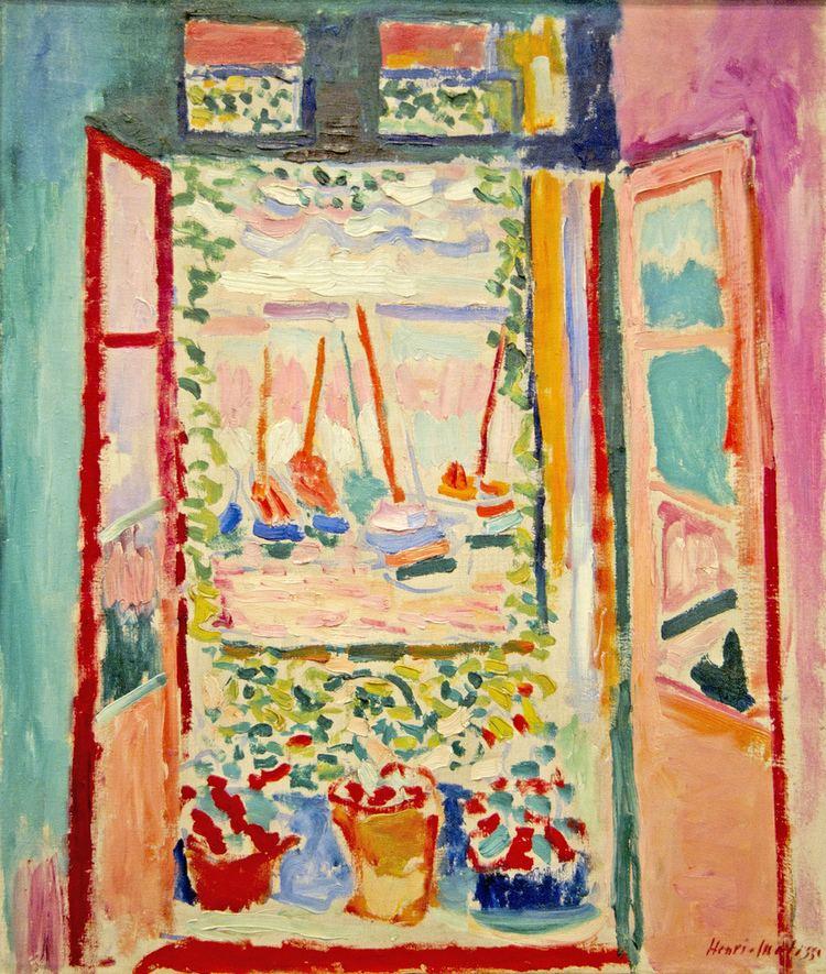 The Open Window (Matisse) Henri Matisse painter French 1869 1954 Open Window C Flickr