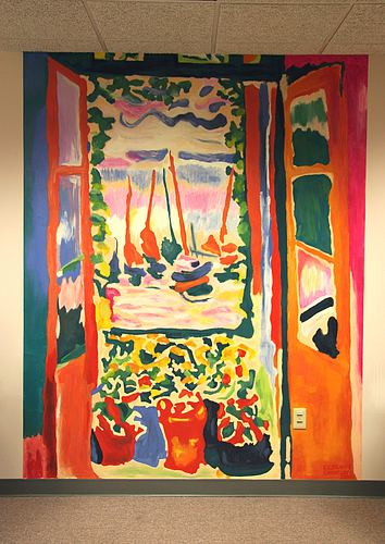 The Open Window (Matisse) The Open Window Collioure by Henri Matisse The artist would be