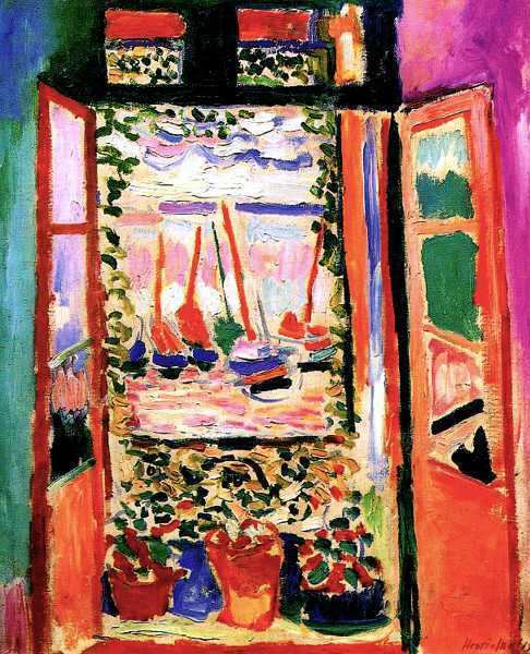 The Open Window (Matisse) Fauvism New Possibilities for Color in Art