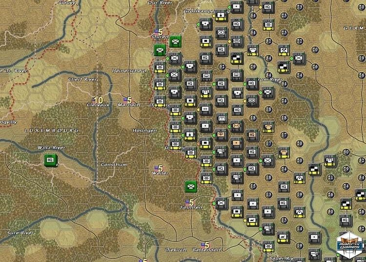 The Operational Art of War Matrix Games Norm Koger39s The Operational Art of War III Screenshots