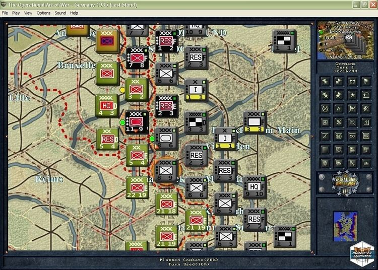 The Operational Art of War Matrix Games Norm Koger39s The Operational Art of War III