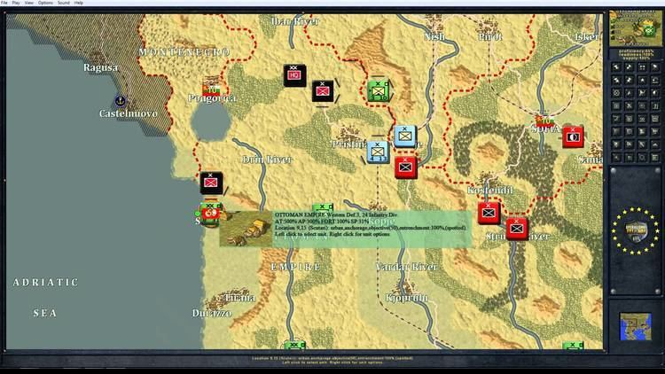 The Operational Art of War The Operational Art of War Balkans 12 Scenario AAR YouTube