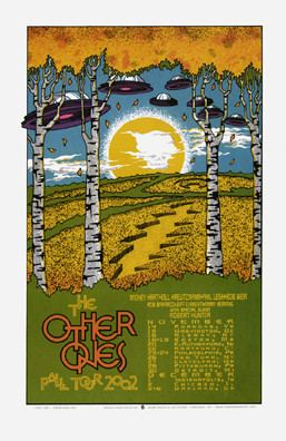 The Other Ones The Other Ones Concert Poster by Gary Houston SOLD OUT