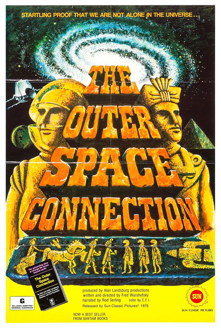 The Outer Space Connection Poster for The Outer Space Connection 1975 USA Wrong Side of