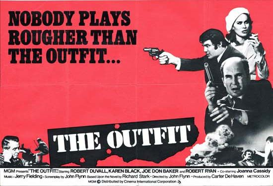 The Outfit (1973 film) The Outfit1973 Not The Baseball Pitcher