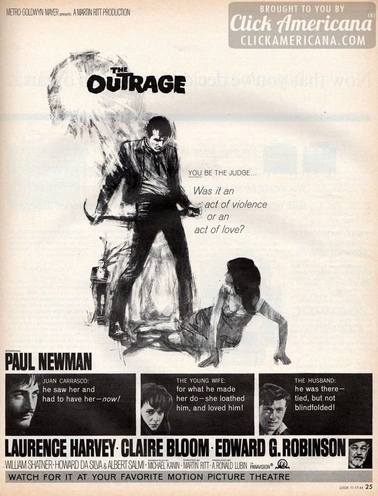 The Outrage Paul Newman in quotThe Outragequot 1964 Click Americana