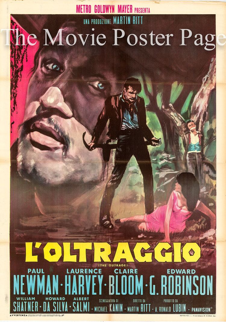 The Outrage Movie Poster Collecting The Outrage 1964 Paul Newman Italian