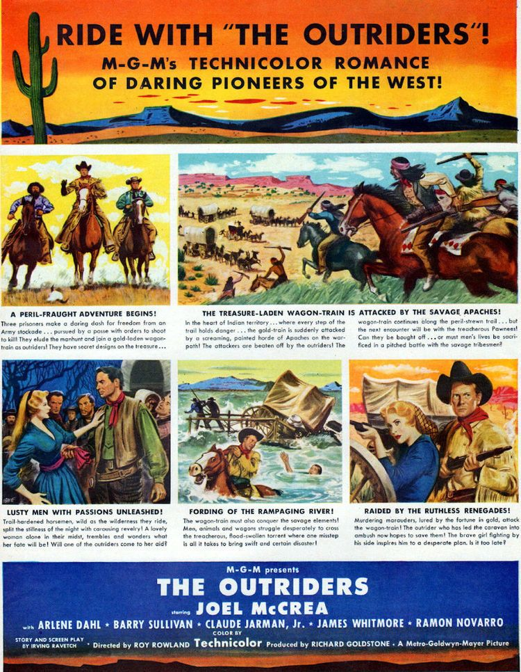 The Joel McCrea Blogathon The Outriders 1950 By Guest Blogger