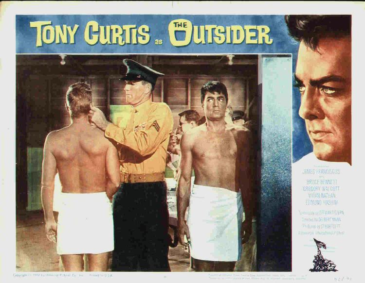 The Outsider (1961 film) James Franciscus The Outsider 1961