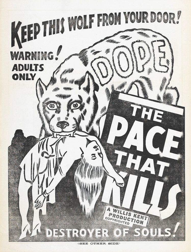 The Pace That Kills Poster for The Pace That Kills aka Cocaine Fiends 1935 USA