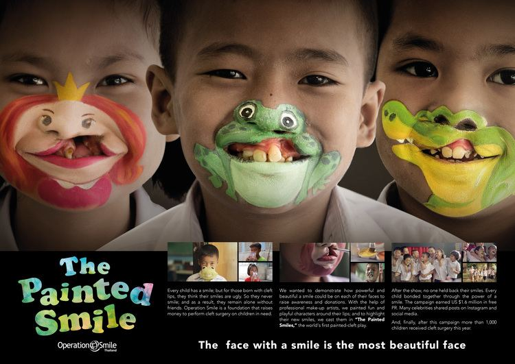 The Painted Smile TV ad Operation Smile Foundation The Painted Smile