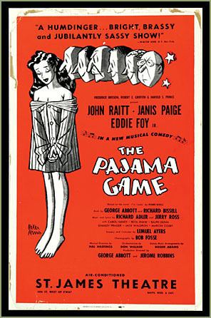 The Pajama Game 1000 images about LRHS Pajama Game on Pinterest Orchestra Satire
