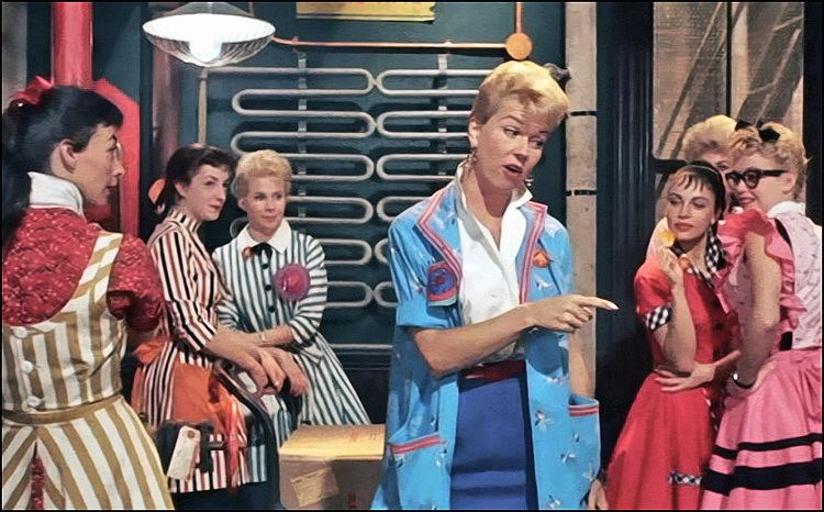 128931033e The Pajama Game (film) As I Said Fashion In Film The Pajama Game 1957