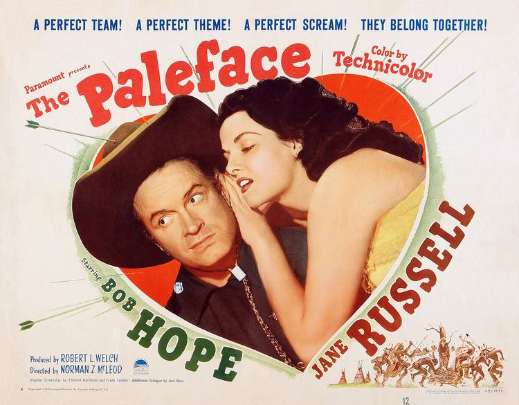 The Paleface (1948 film) The Paleface 1948 Bob Hope The Happy Video Network