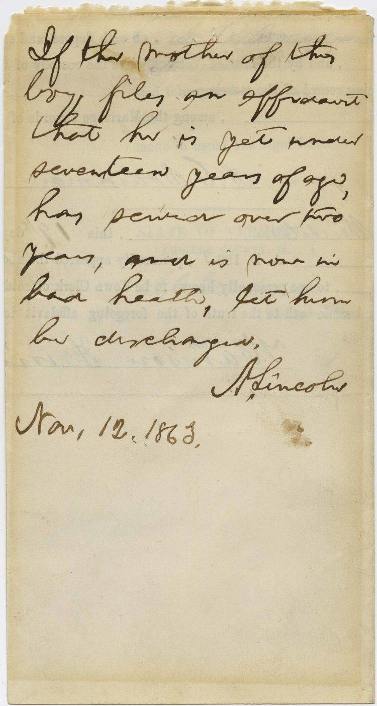 The Papers of Abraham Lincoln wwwpapersofabrahamlincolnorgdocumentimages2913