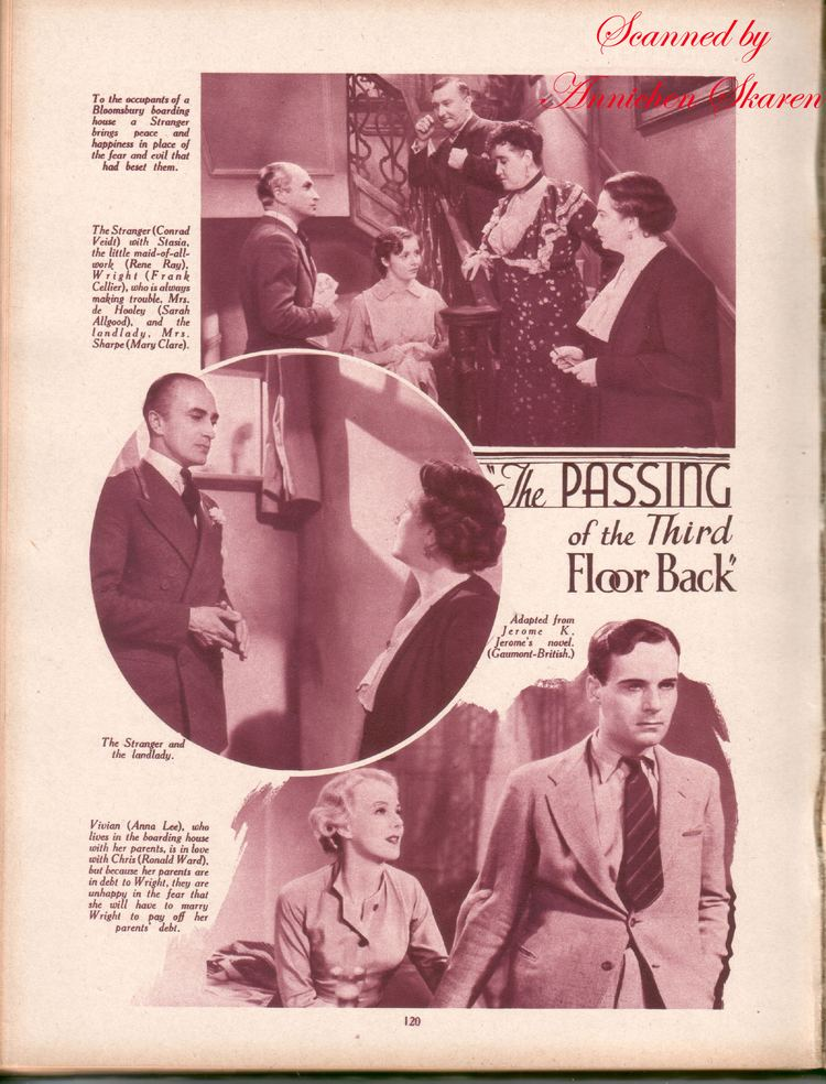 The Passing of the Third Floor Back The Passing of the Third Floor Back 1935 Conrad Veidt