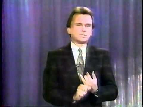 The Pat Sajak Show The Pat Sajak Show Debut Monologue 1989 YouTube